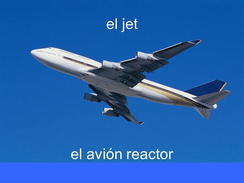 el jet el avión reactor