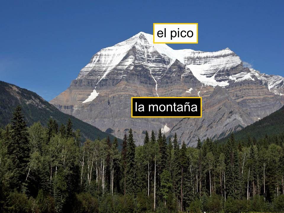 la montaña el pico