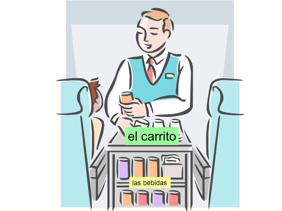el carrito las bebidas
