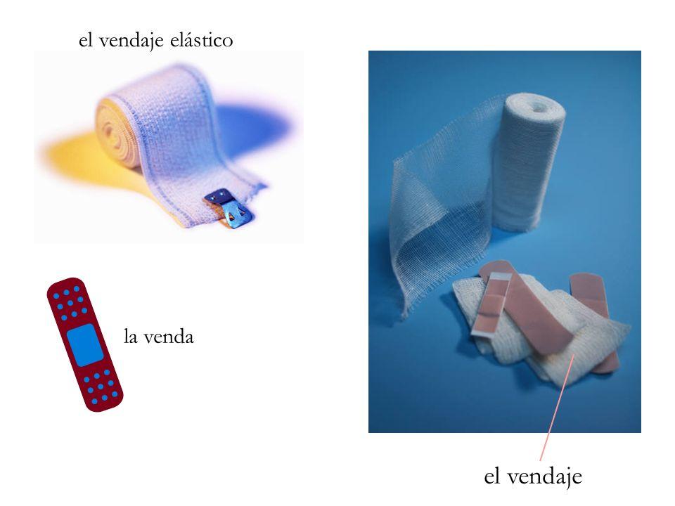 la venda el vendaje elástico el vendaje