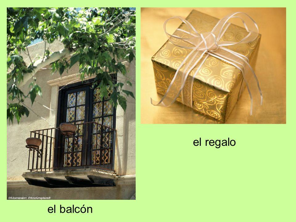 el balcón el regalo