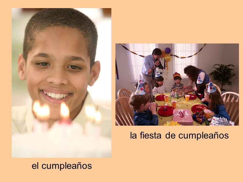 la fiesta de cumpleaños el cumpleaños