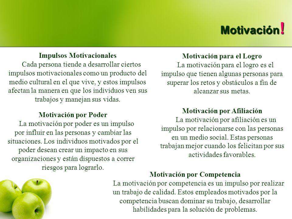 Motivación para el Logro La motivación para el logro es el impulso que tienen algunas personas para superar los retos y obstáculos a fin de alcanzar s