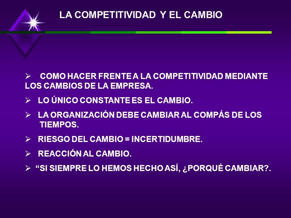 9.-HAY NECESIDAD DE CONSTRUIR LO QUE SE HA DENOMINADO CAPACIDAD DE LA ORGANIZACIÓN. 10.-TODO CONDUCE A CUMPLIR CON LOS PRINCIPIOS DE FLEXIBILIDAD, AMB