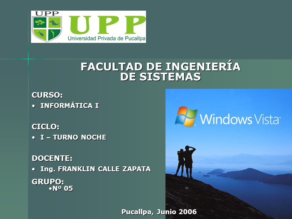 d)- Windows Vista Business.- Equivalente al Windows XP Profesional.