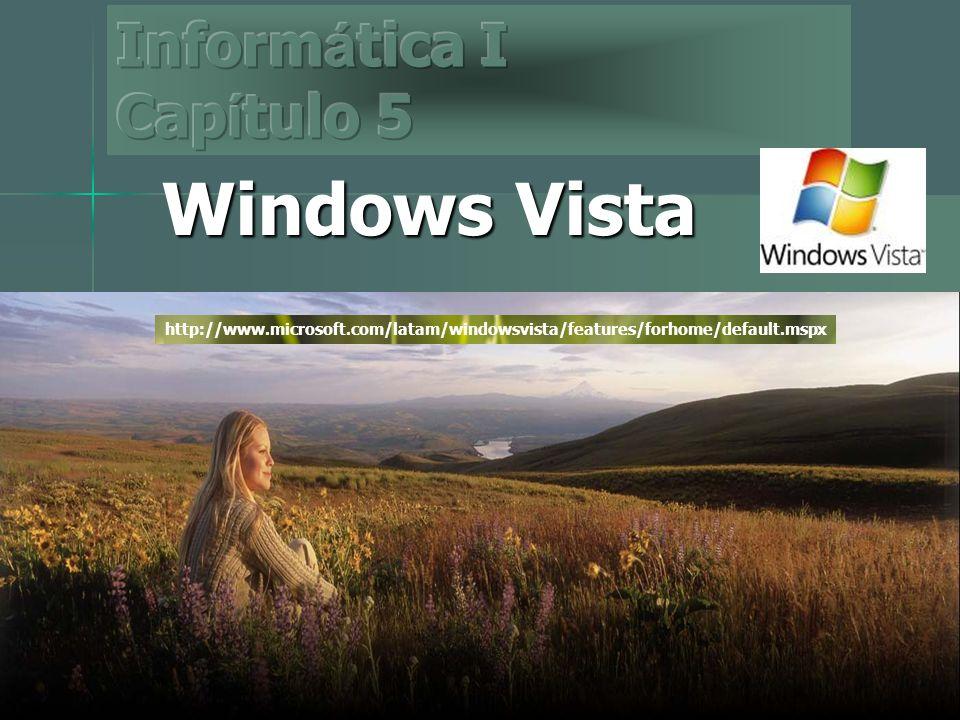 Indice I.Introducción. II. Objetivos III. Contenido del Tema: Windows Vista.