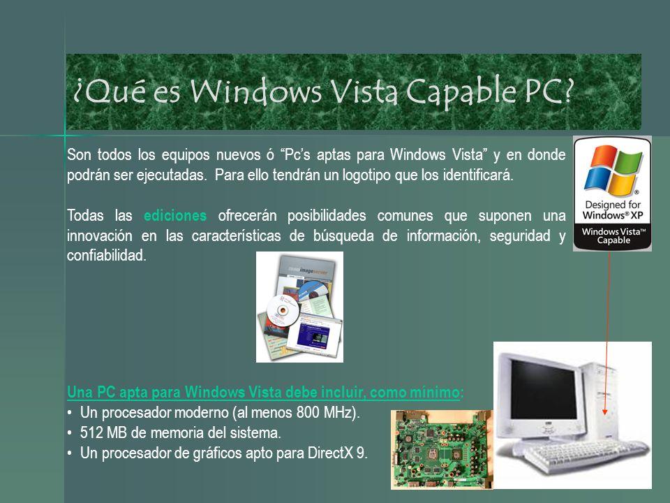 ¿Qué es Windows Vista Premiun Ready.