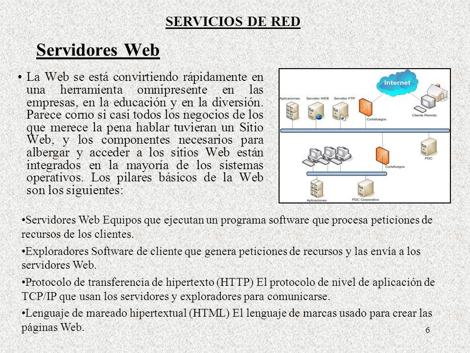 27 Lós comandos de servicio FTP permiten al cliente administrar el sistema de archivos del servidor e iniciar la transferencia del archivo.