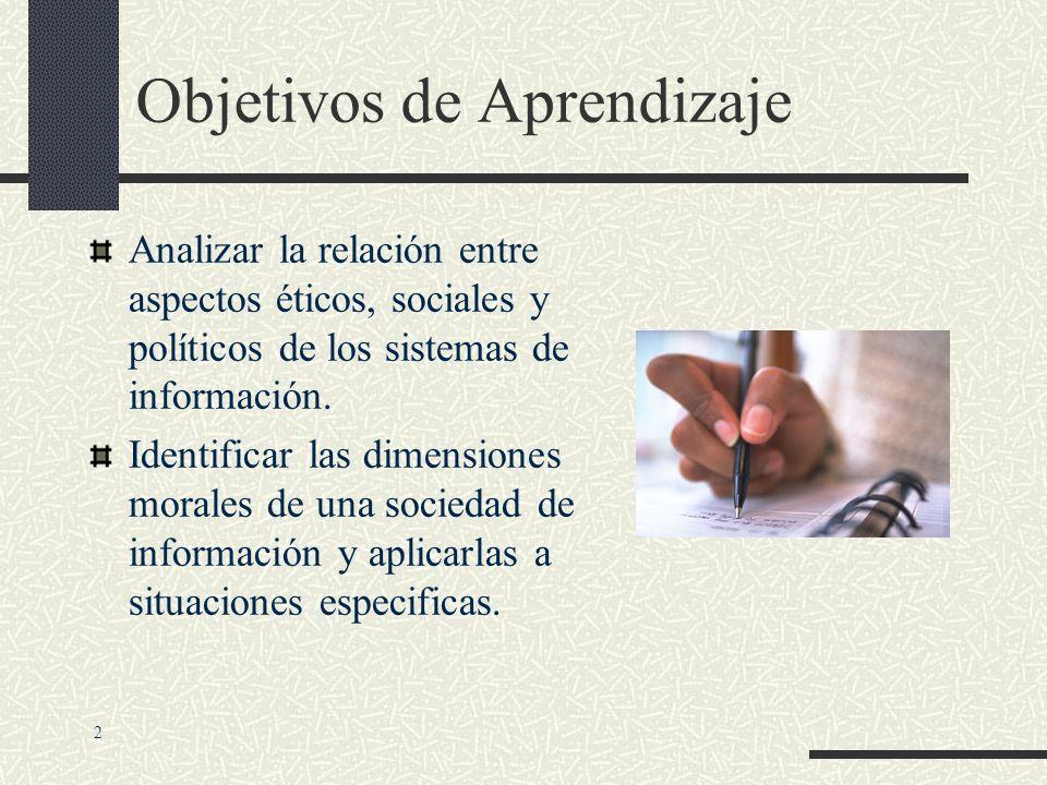 Impacto Etico y Social de los Sistemas de Información 1