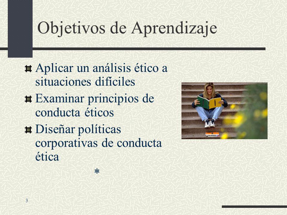 Objetivos de Aprendizaje Analizar la relación entre aspectos éticos, sociales y políticos de los sistemas de información. Identificar las dimensiones