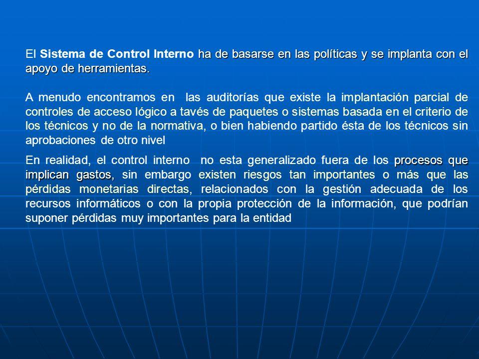 17.6AUDITORÍA DE LA SEGURIDAD LÓGICA Cuando se cuenta con distintos sistemas los cuales requieren identificación.