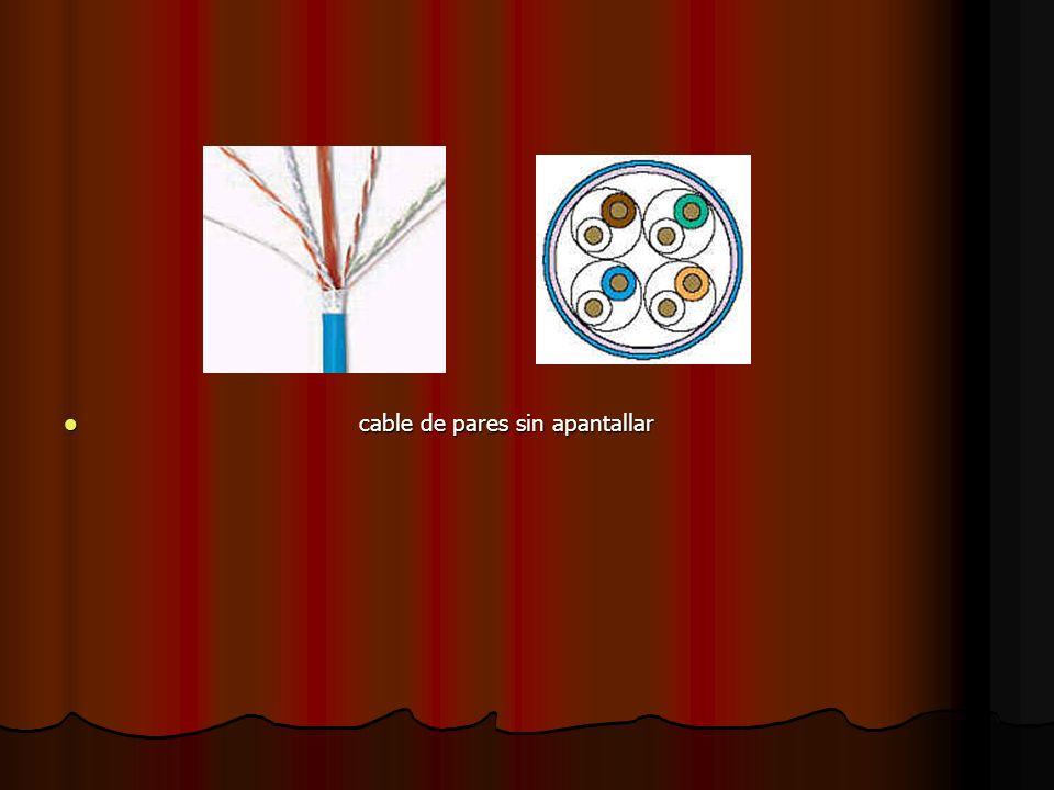 cable de pares sin apantallar cable de pares sin apantallar