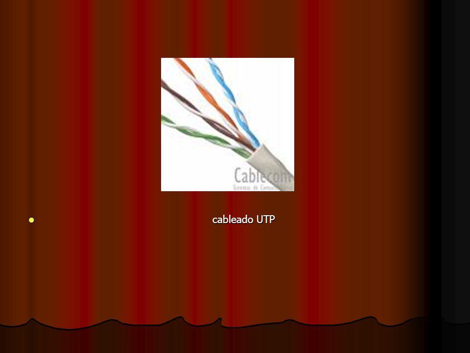 cableado UTP cableado UTP