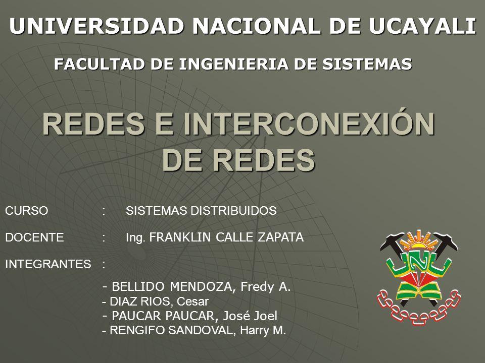 REDES E INTERCONEXIÓN DE REDES INTRODUCCIÓN INTRODUCCIÓN TIPOS DE REDES TIPOS DE REDES FUNDAMENTOS DE REDES FUNDAMENTOS DE REDES PROTOCOLOS INTERNET PROTOCOLOS INTERNET CASOS DE ESTUDIO: ETHERNET, LAN INALÁMBRICA Y ATM.