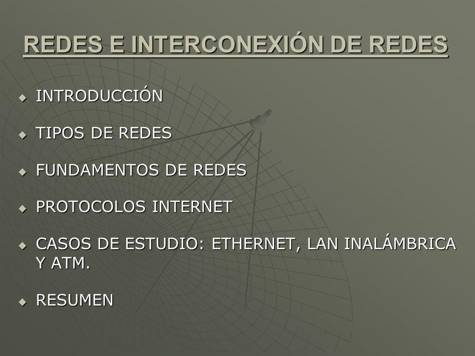 INTRODUCCIÓN Las redes utilizadas por los sistemas distribuidos están compuestas por medios de transmisión variados, que incluyen el cable coaxial, la fibra óptica y los canales inalámbricos; dispositivos hardware, como routers, switches, bridges, hubs, repetidores e interfaces de red; y componentes software, entre los que se encuentran las pilas de protocolos, los gestores de comunicaciones y los controladores de dispositivos.