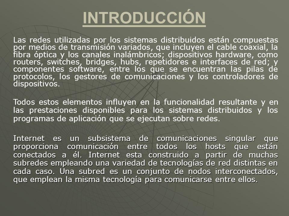 PROTOCOLOS O CAPAS El Software de red está organizado en una jerarquía de capas.