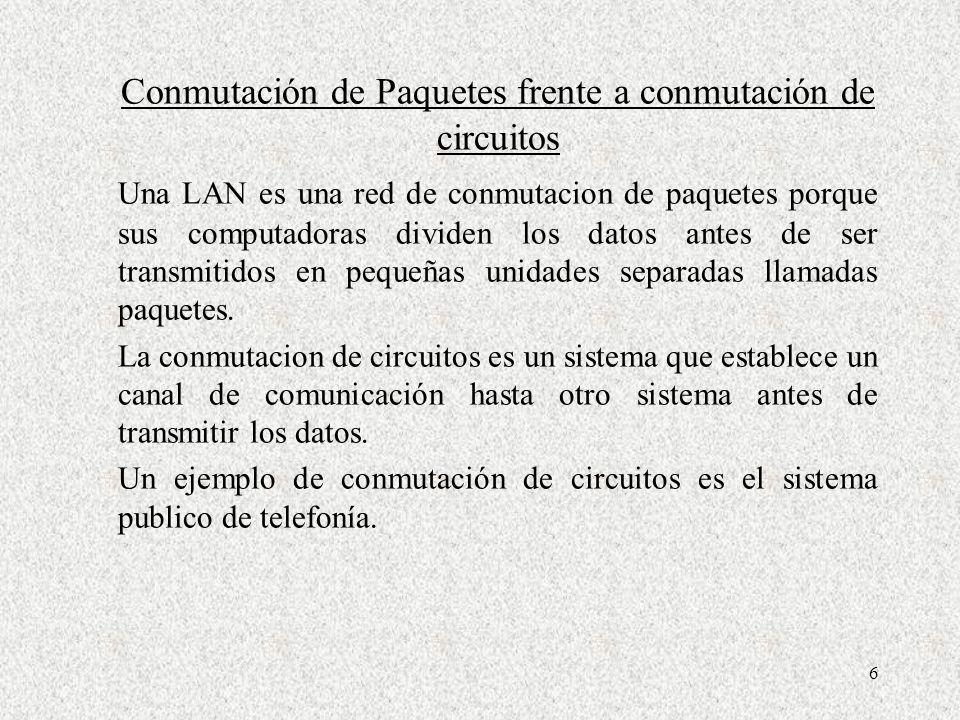 27 NIVEL DE ENLACE DE DATOS El protocolo del nivel de enlace de datos es in intermedio entre la red física y la pila de protocolo de la computadora.