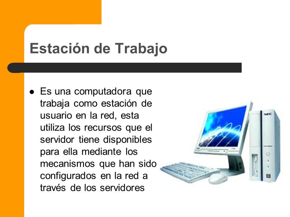 Servidor de Base de Datos Es utilizado cuando hay necesidad de almacenar y procesar grandes cantidades de información y brindar la información necesar