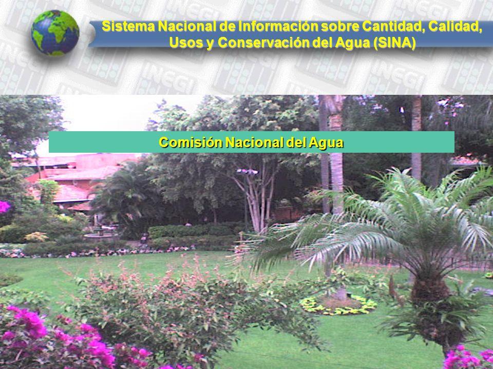 Sistema Nacional de Información sobre Cantidad, Calidad, Usos y Conservación del Agua (SINA) Comisión Nacional del Agua
