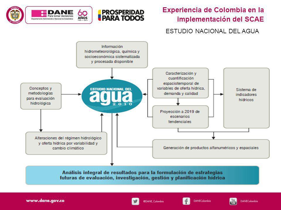 Experiencia de Colombia en la implementación del SCAE HOGARES