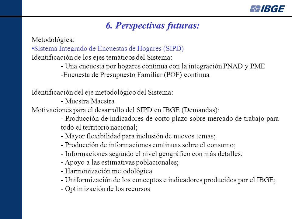 Metodológica: Sistema Integrado de Encuestas de Hogares (SIPD) Identificación de los ejes temáticos del Sistema: - Una encuesta por hogares continua c