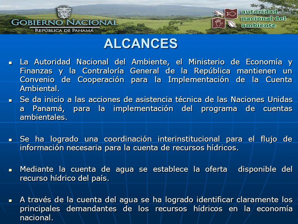 ALCANCES La Autoridad Nacional del Ambiente, el Ministerio de Economía y Finanzas y la Contraloría General de la República mantienen un Convenio de Co