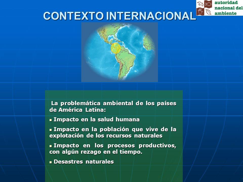 La problemática ambiental de los países de América Latina: La problemática ambiental de los países de América Latina: Impacto en la salud humana Impac