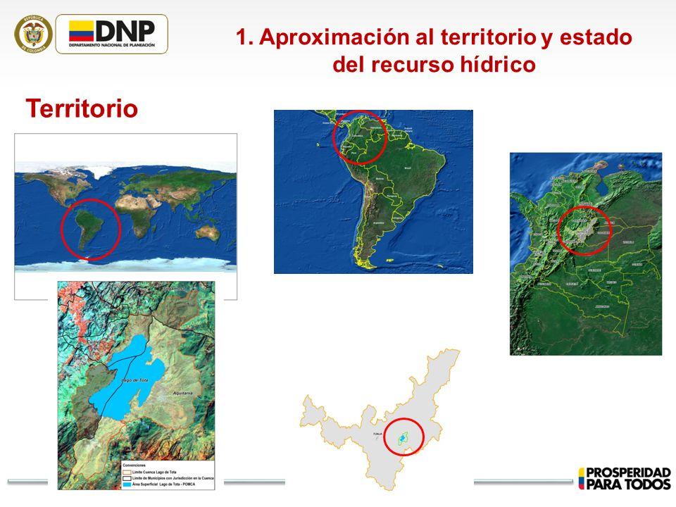 Territorio 1. Aproximación al territorio y estado del recurso hídrico