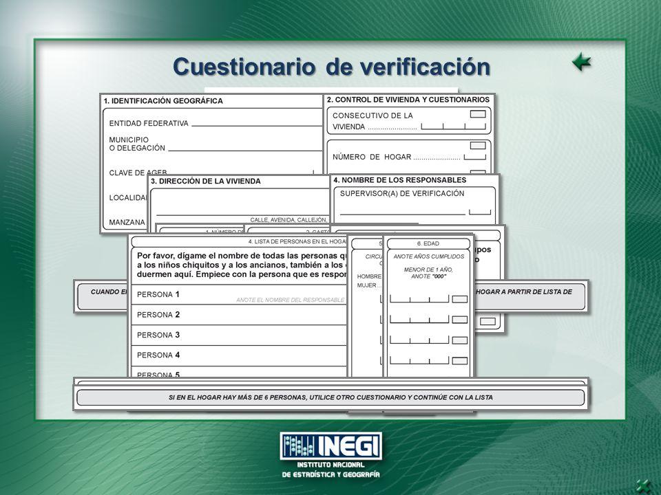 Cuestionario de verificación