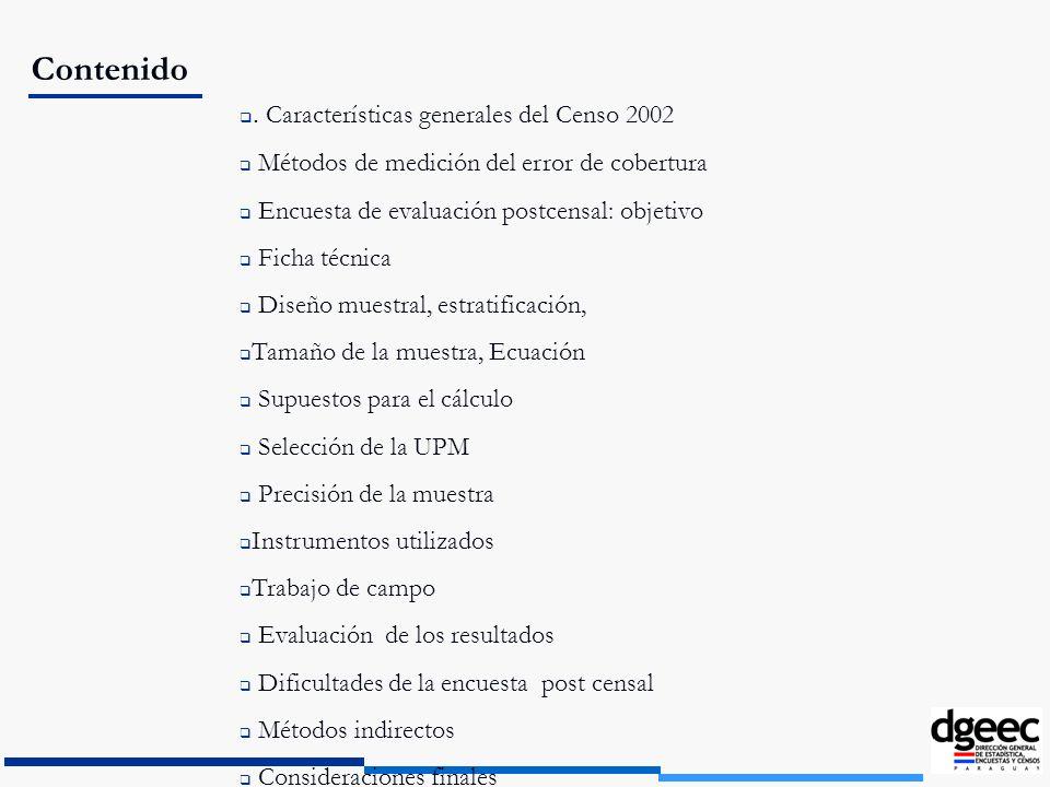 COMPARACIÓN DE OMISIÓN CENSAL POR ESTRATO.