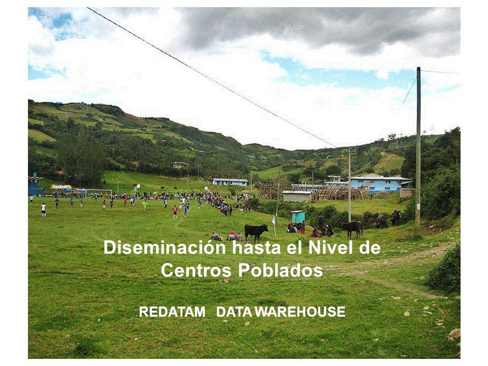 Secciones mas visitadas de la Página Web del INEI – Perú con información censal, 2010 (En Porcentaje) En el año 2010, la información de los censos, colgada en la página Web tuvo un millón 345 mil 949 vivistas