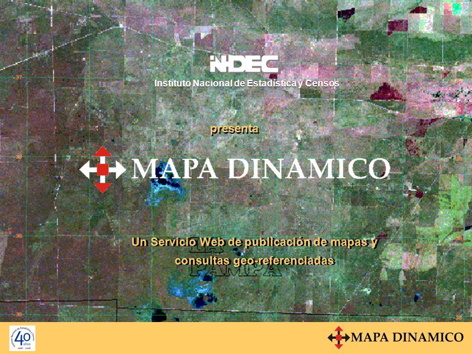 MapServe Componentes del Servicio BD GEO MapServe BD Alfanumérica Aplicación www