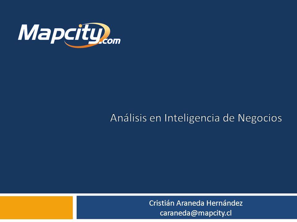 Cristián Araneda Hernández caraneda@mapcity.cl