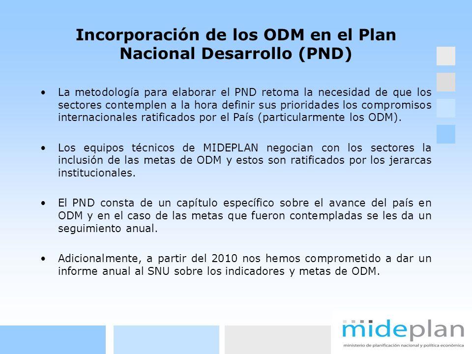 La metodología para elaborar el PND retoma la necesidad de que los sectores contemplen a la hora definir sus prioridades los compromisos internacional
