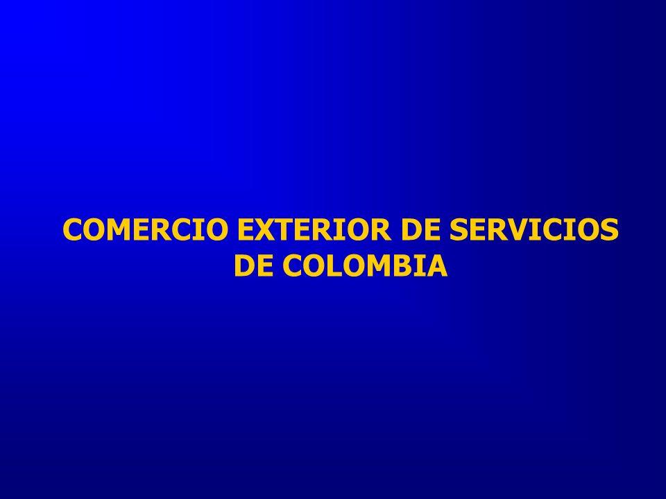 COMERCIO EXTERIOR DE SERVICIOS DE COLOMBIA