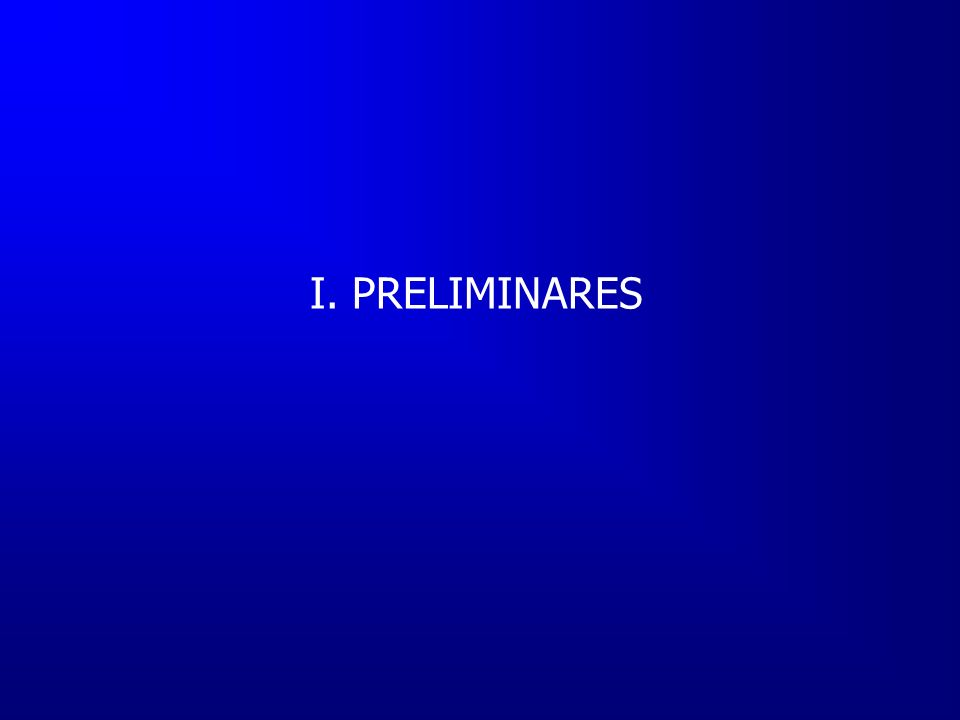 CONTENIDO I.Preliminares II.Medición actual III.Resultados IV.Síntesis V.