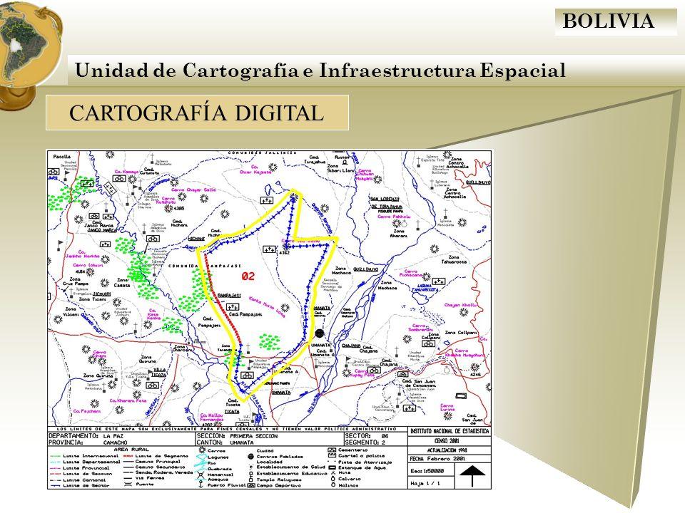 BOLIVIA Actualización Cartográfica 2009 Trabajo de Gabinete