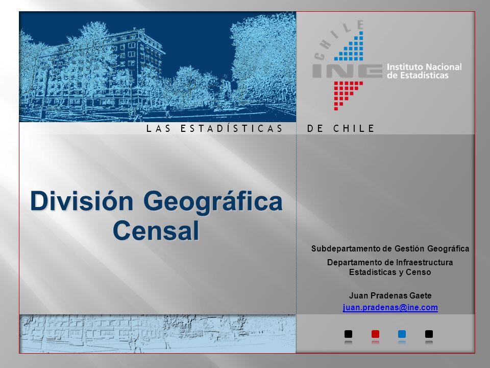 DE CHILELAS ESTADÍSTICAS Censo de Chile.
