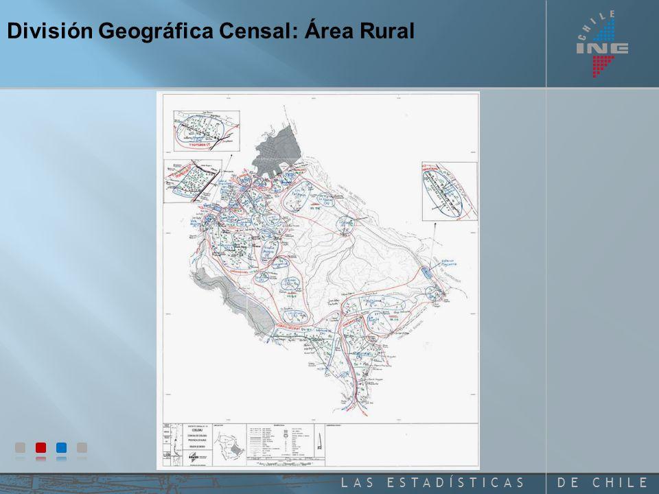 DE CHILELAS ESTADÍSTICAS Distritos Censales Rurales Comuna de Frutillar Mapa Comunal Región de Los Lagos División Geográfica Censal: Área Rural