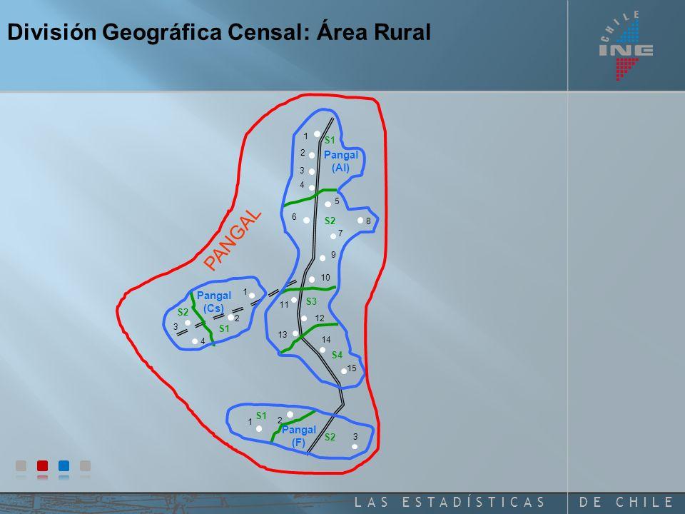 DE CHILELAS ESTADÍSTICAS Pangal (Cs) Pangal (Al) Pangal (F) 1 2 3 3 1 2 4 1 2 3 4 5 6 7 8 9 10 11 12 13 14 15 PANGAL División Geográfica Censal: Área