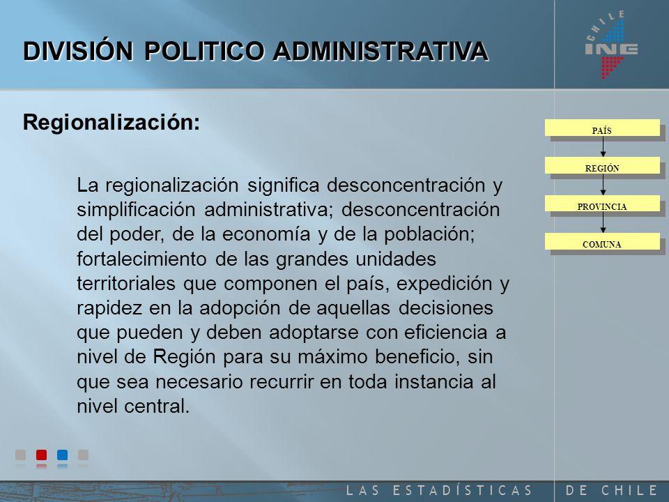 DE CHILELAS ESTADÍSTICAS 1 0 1 0 1 0 4 2 0 1 3 0 0 2 CODIGO UNICO NACIONAL DISTRITO AREA LOC / ZONA MANZ / ENT CODIFICACIÓN DE ÁREAS GEOGRÁFICAS CENSALES Región Provincia Comuna 1 = Urbana 2 = Rural Localidad = Rural Zona Censal = Urbana Manzana = Rural Entidad = Urbana