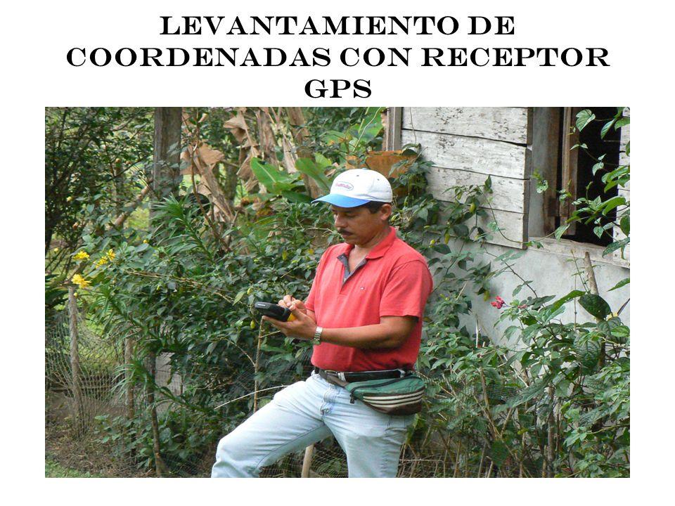 ACTUALIZACIÓN CARTOGRÁFICA CON RECEPTOR GPS