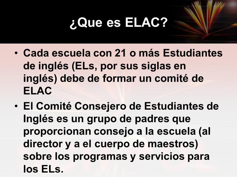 ¿Que es ELAC.