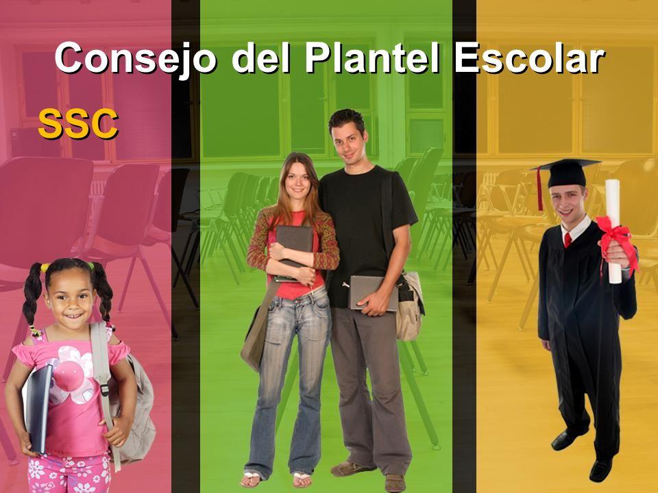 Consejo del Plantel Escolar SSC