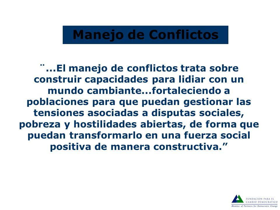 Conflicto Público Un desacuerdo entre múltiples actores sociales interdependientes que perciben tener posiciones incompatibles sobre la distribución d