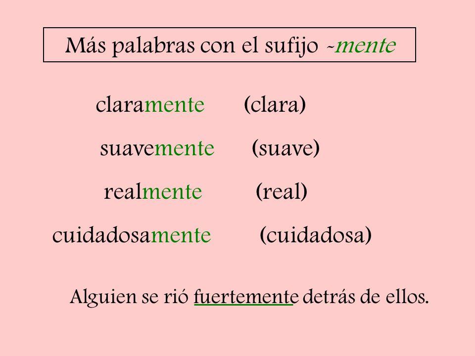 Diminutivos -ito -ita Los diminutivos son terminaciones que indican que algo es pequeño.