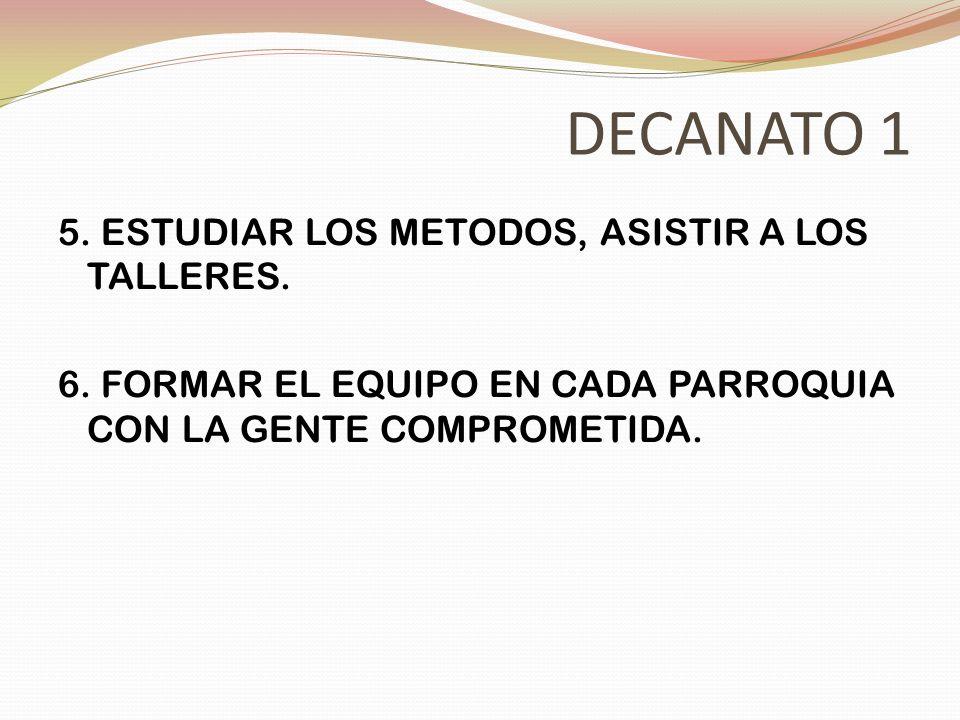 DECANATO 9 1.