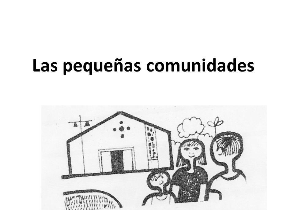 Las pequeñas comunidades