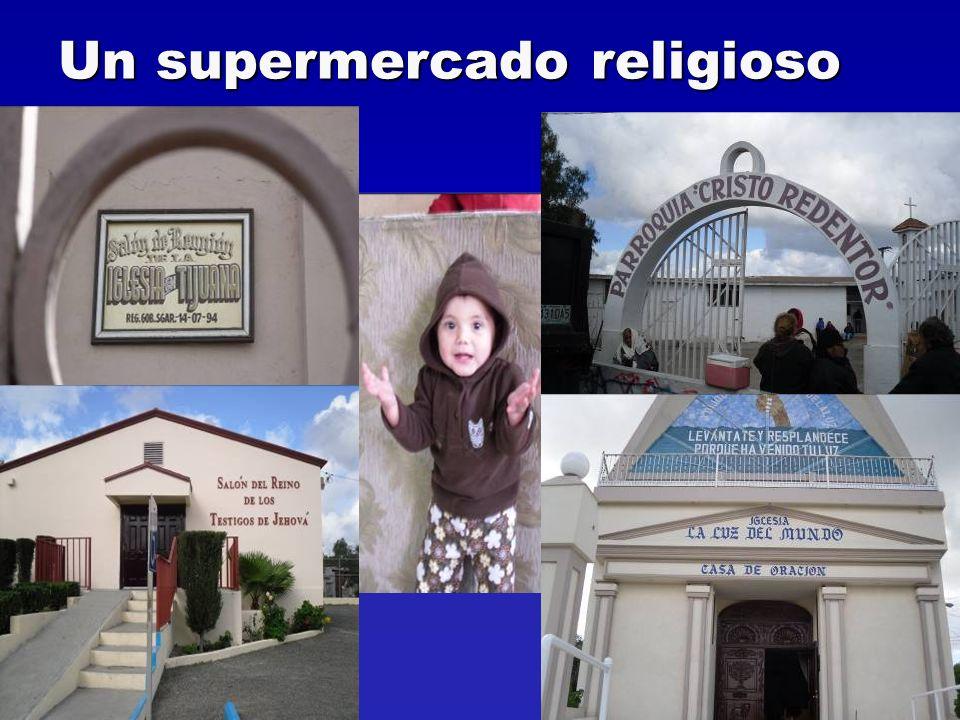 Un supermercado religioso