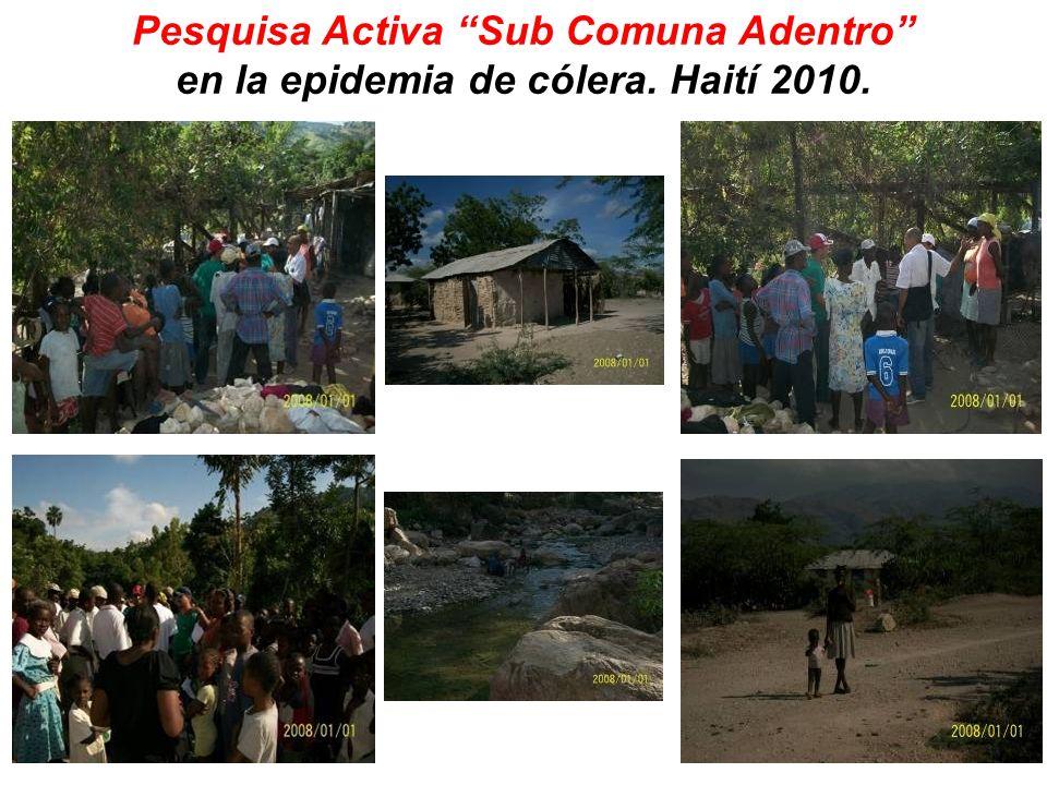 El pasado domingo, 28 de noviembre, llegaron al Centro de Tratamiento al Cólera del hospital de referencia comunitario situado en la comuna LEstere del Departamento Artibonite, 18 personas en estado muy crítico, procedentes de una subcomuna llamada Plateau.